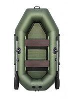 Лодка гребная АКВА-МАСТЕР 240 зеленый, фото 1