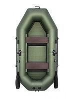 Надувная гребная лодка АКВА-МАСТЕР 260 зеленый, фото 1