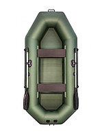Надувная ПВХ лодка АКВА-МАСТЕР 280 зеленый, фото 1