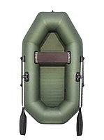 Лодка надувная АКВА-ОПТИМА 220 зеленая, фото 1