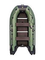 Лодка Ривьера Компакт 2900 СК касатка зеленый/черный, фото 1