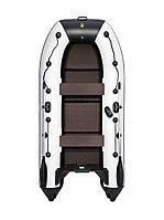 Надувная лодка Ривьера Компакт 3200 С касатка светло-серый/черный, фото 1