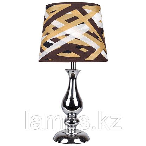 Настольная лампа T0003 FABRIC Silver , фото 2