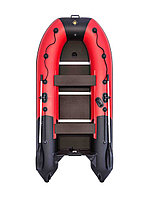 Гребгая лодка Ривьера Компакт 3200 СК комби красный/черный, фото 1
