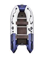 Лодка моторно-гребная Ривьера Компакт 3200 СК комби светло-серый/синий, фото 1