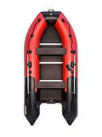 Лодка моторно-гребная Ривьера Компакт 3400 СК  красно/черная, фото 1