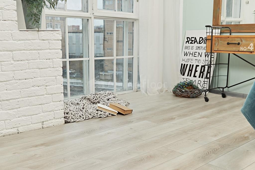 Кварц-виниловая плитка Alpine Floor ECO 7-2 Дуб Белая ночь