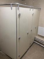 Туалетные перегородки сантехнические из HPL пластика 12 мм, фото 1