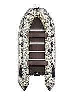 Гребная лодка Ривьера Компакт 3600 СК камуфляж пиксель, фото 1