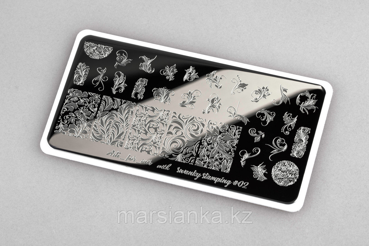 Пластина Arti for you with Swanky Stamping #02