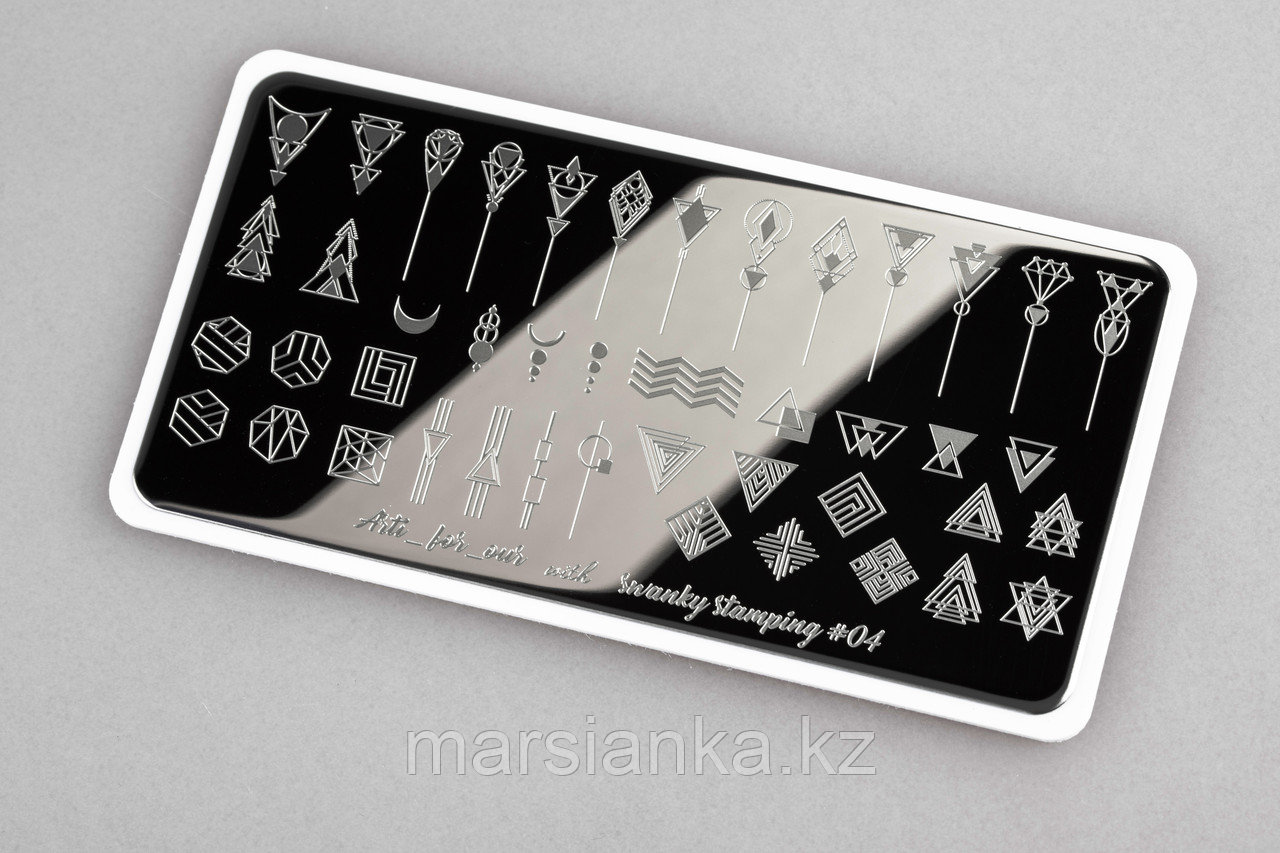 Пластина Arti for you with Swanky Stamping #04