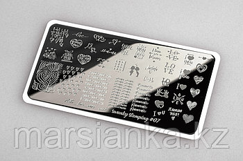 Пластина Arti for you with Swanky Stamping #07