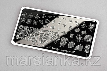 Пластина Arti for you with Swanky Stamping #12