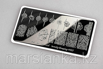 Пластина Arti for you with Swanky Stamping #13