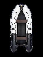 Лодка моторно-гребная Ривьера 4000 НДНД Гидролыжакомби светло-серый/черный, фото 1