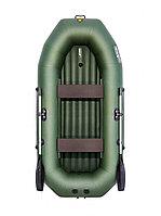 Надувная лодка Таймень N 270 НД зеленый, фото 1