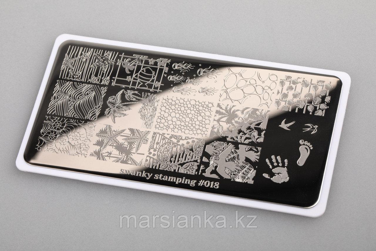 Пластина Swanky Stamping #18