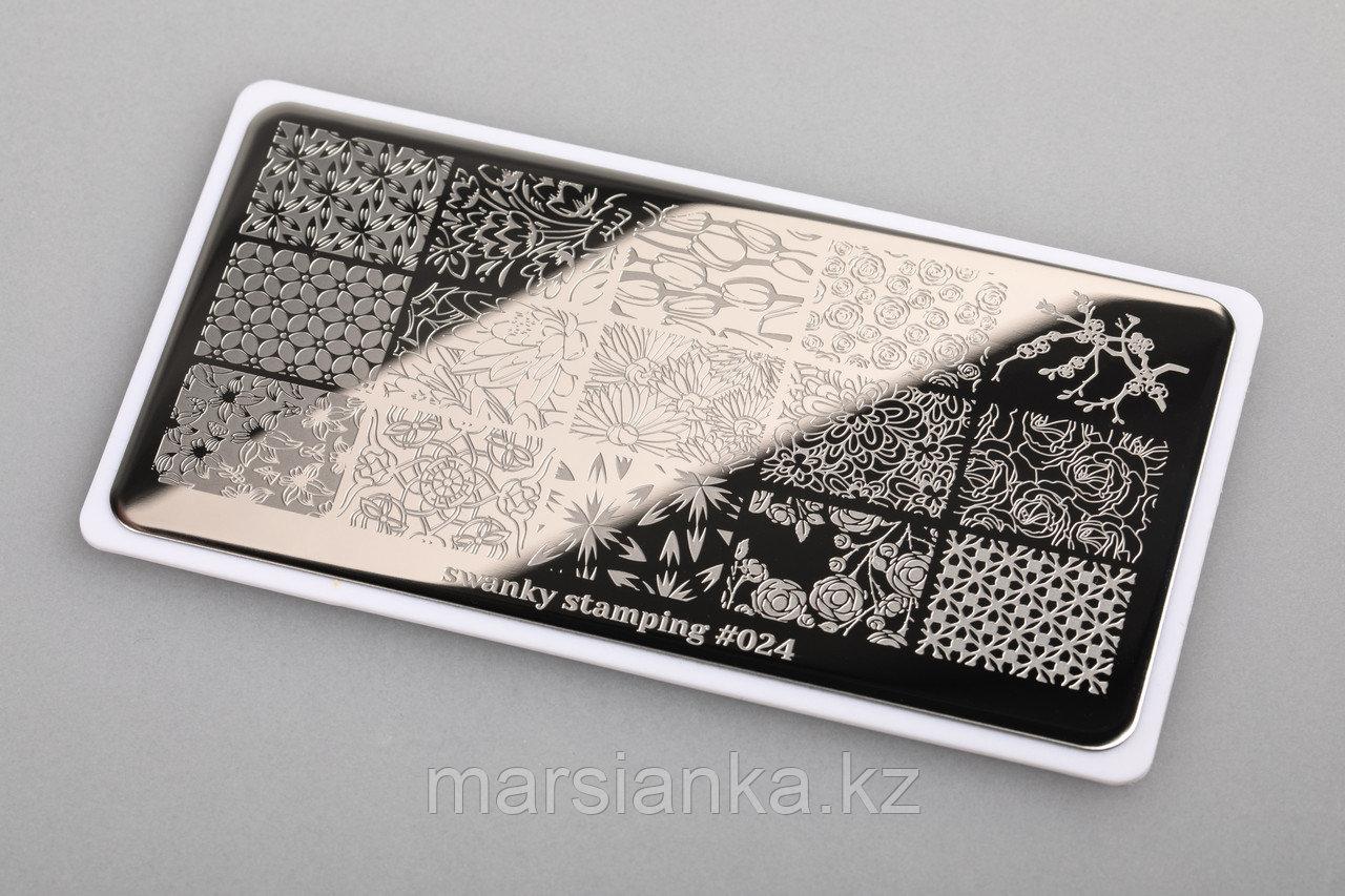 Пластина Swanky Stamping #24