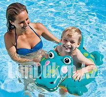 Надувной детский плавательный круг Крокодил Intex 58221 (71 см * 51 см)
