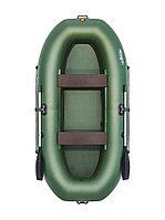 Лодка гребная Таймень V 290 зеленый, фото 1