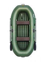 Лодка надувная Таймень V 290 НД зелёный, фото 1