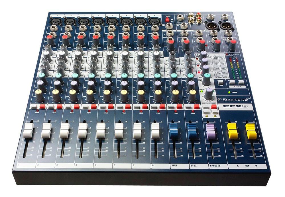 Микшерный пульт пассивный Soundcraft EFX8