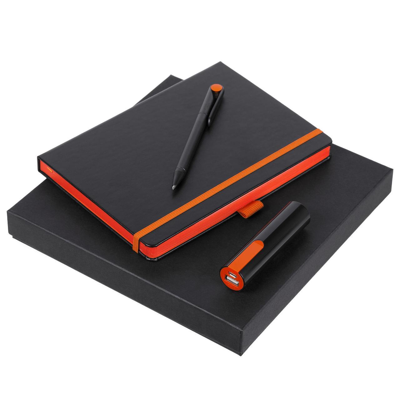 Набор Black Energy, черно-оранжевый