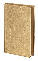Ежедневник Ingot, недатированный, золотистый, фото 1
