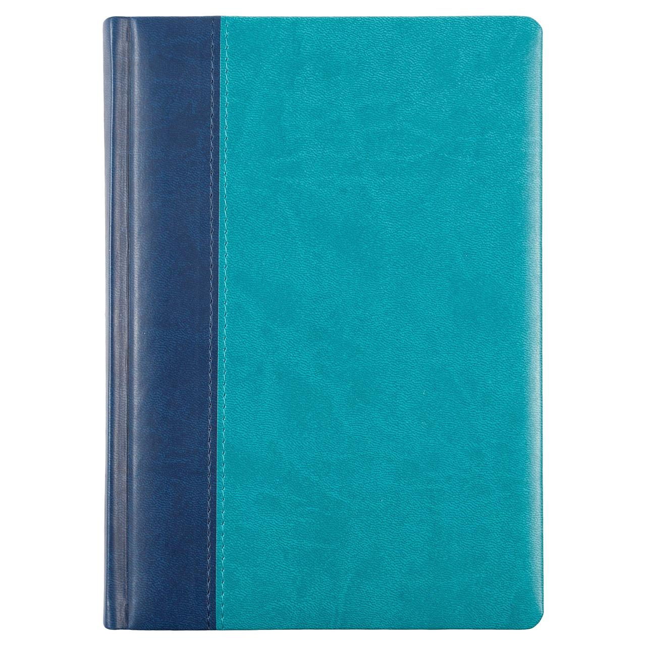 Ежедневник Norma, недатированный, сине-бирюзовый