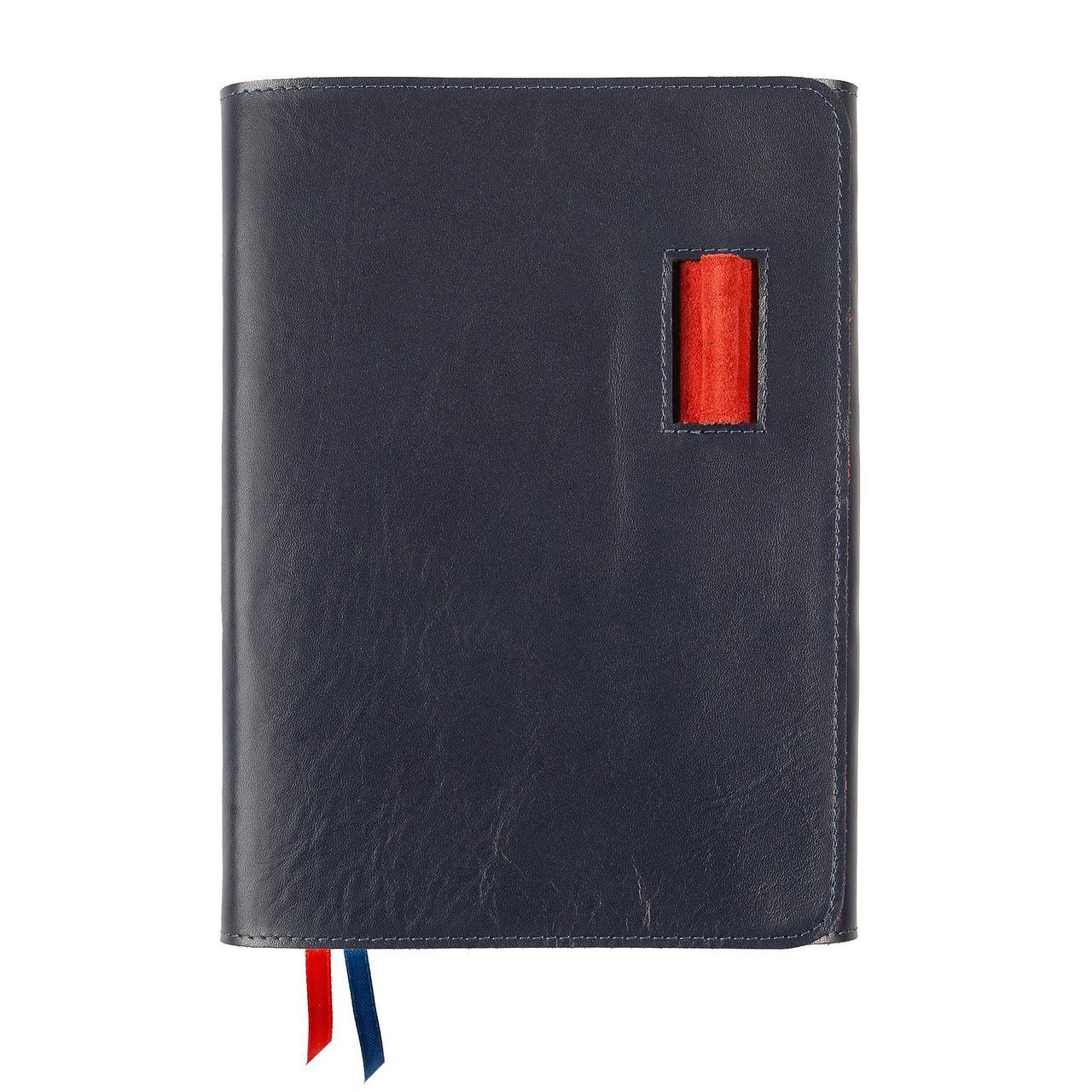 Ежедневник Control, недатированный, синий