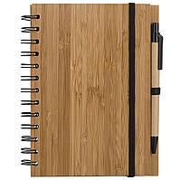 Блокнот на кольцах Bambook с шариковой ручкой, фото 1