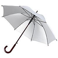 Зонт-трость Unit Standard, серебристый, фото 1
