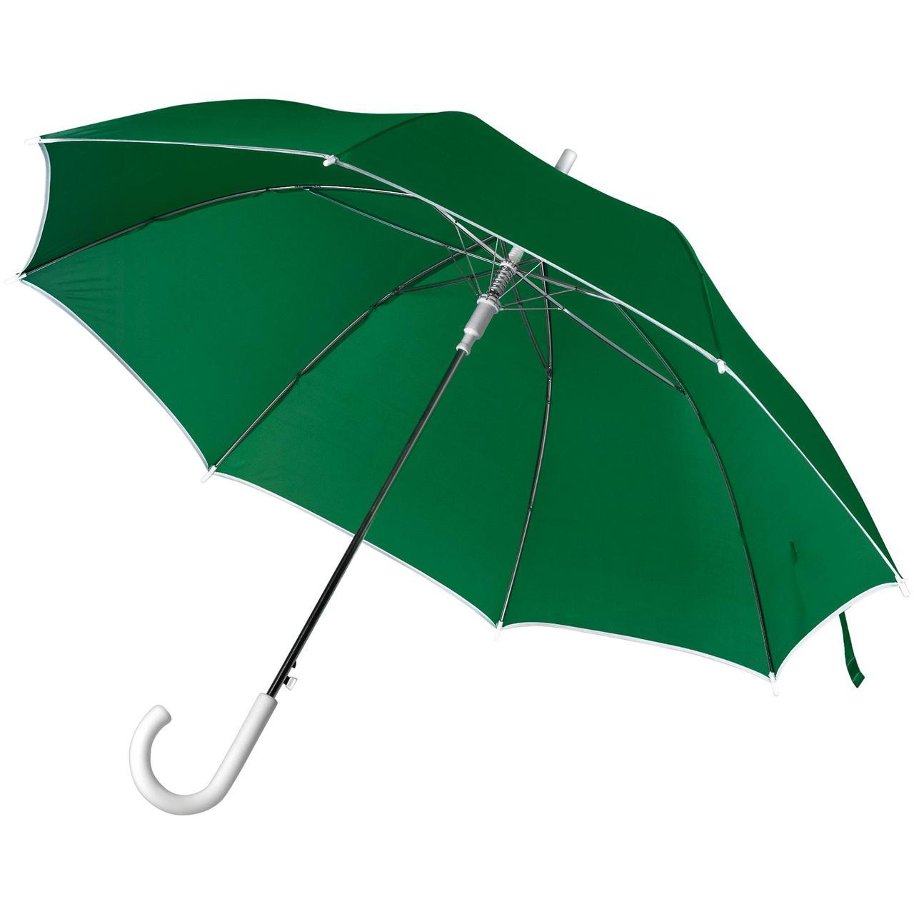 Зонт-трость Unit Color, зеленый