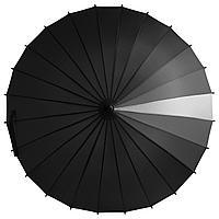 Зонт-трость «Спектр», черный, фото 1