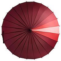 Зонт-трость «Спектр», красный, фото 1
