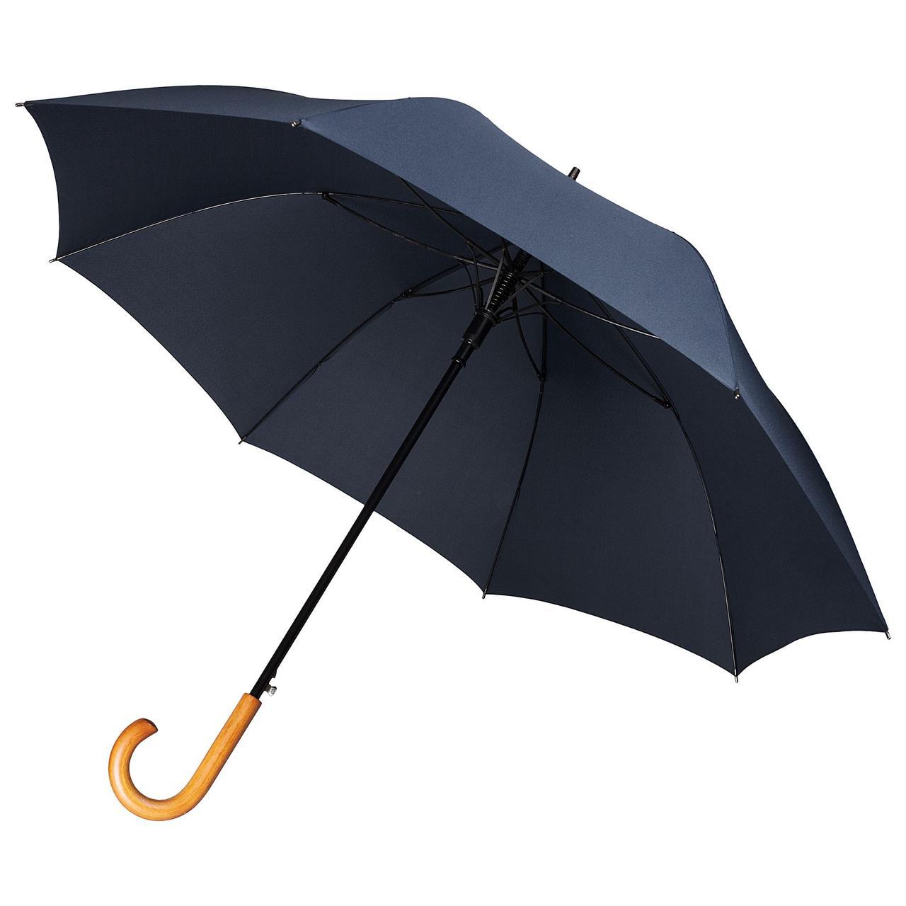Зонт-трость Unit Classic, темно-синий