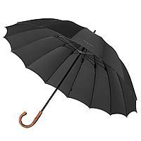 Зонт-трость Big Boss, черный, фото 1