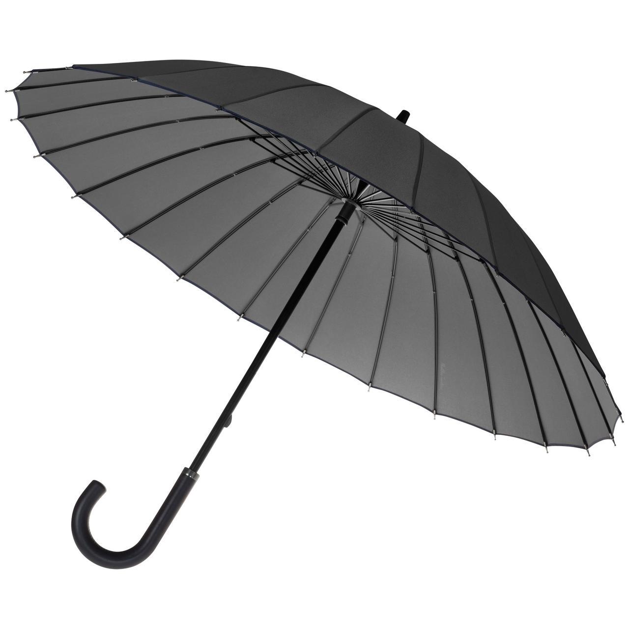 Зонт-трость Ella, серый