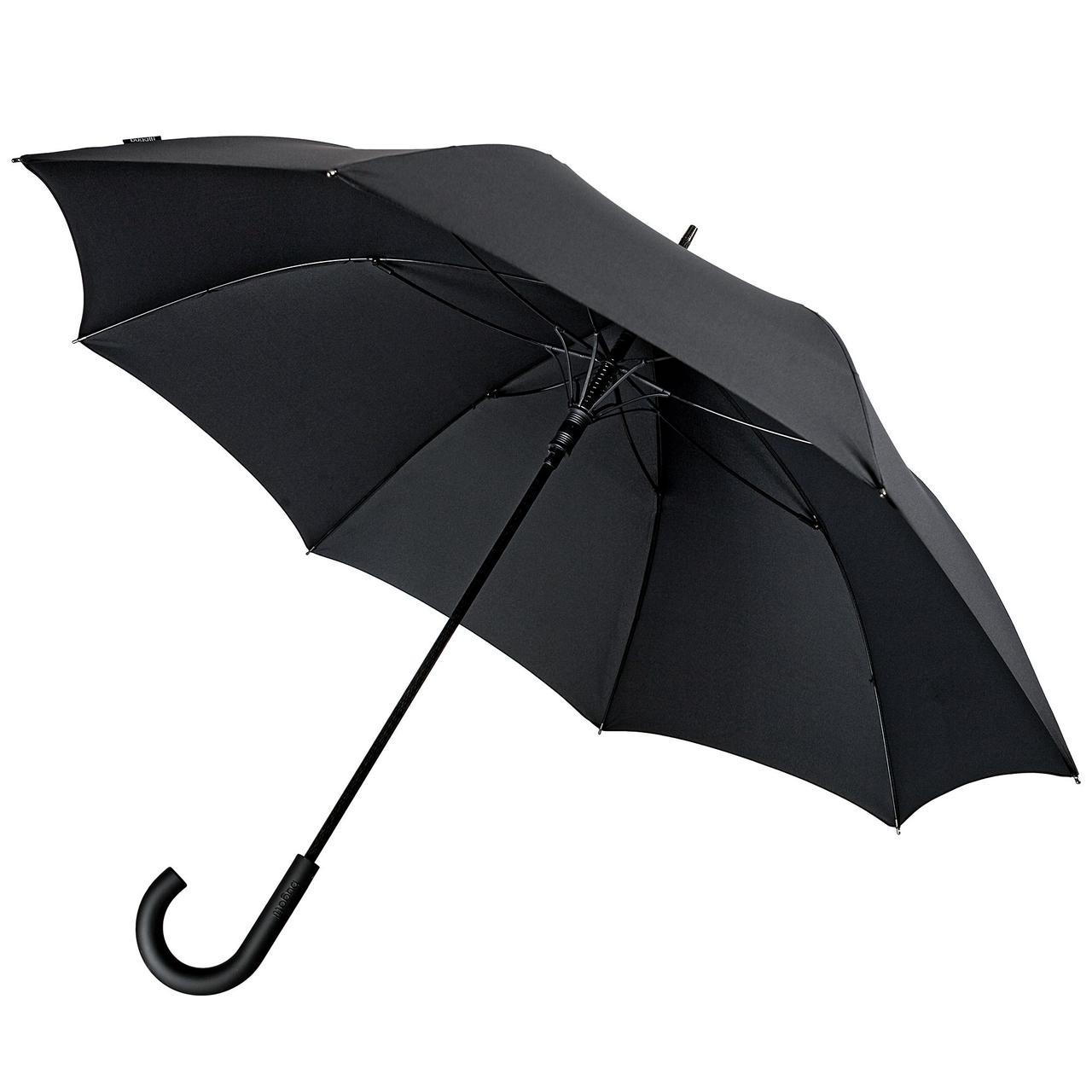 Зонт-трость Sport, черный без рисунка