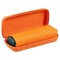 Зонт складной Unit Five, оранжевый, фото 1