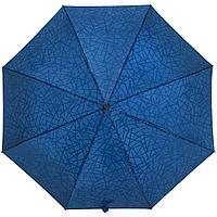 Складной зонт Magic с проявляющимся рисунком, синий, фото 1