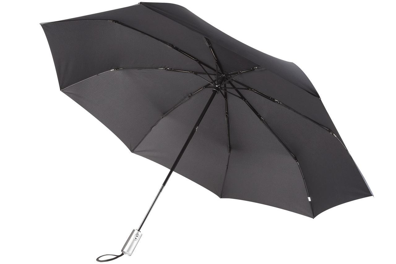 Зонт складной Unit Fiber, черный