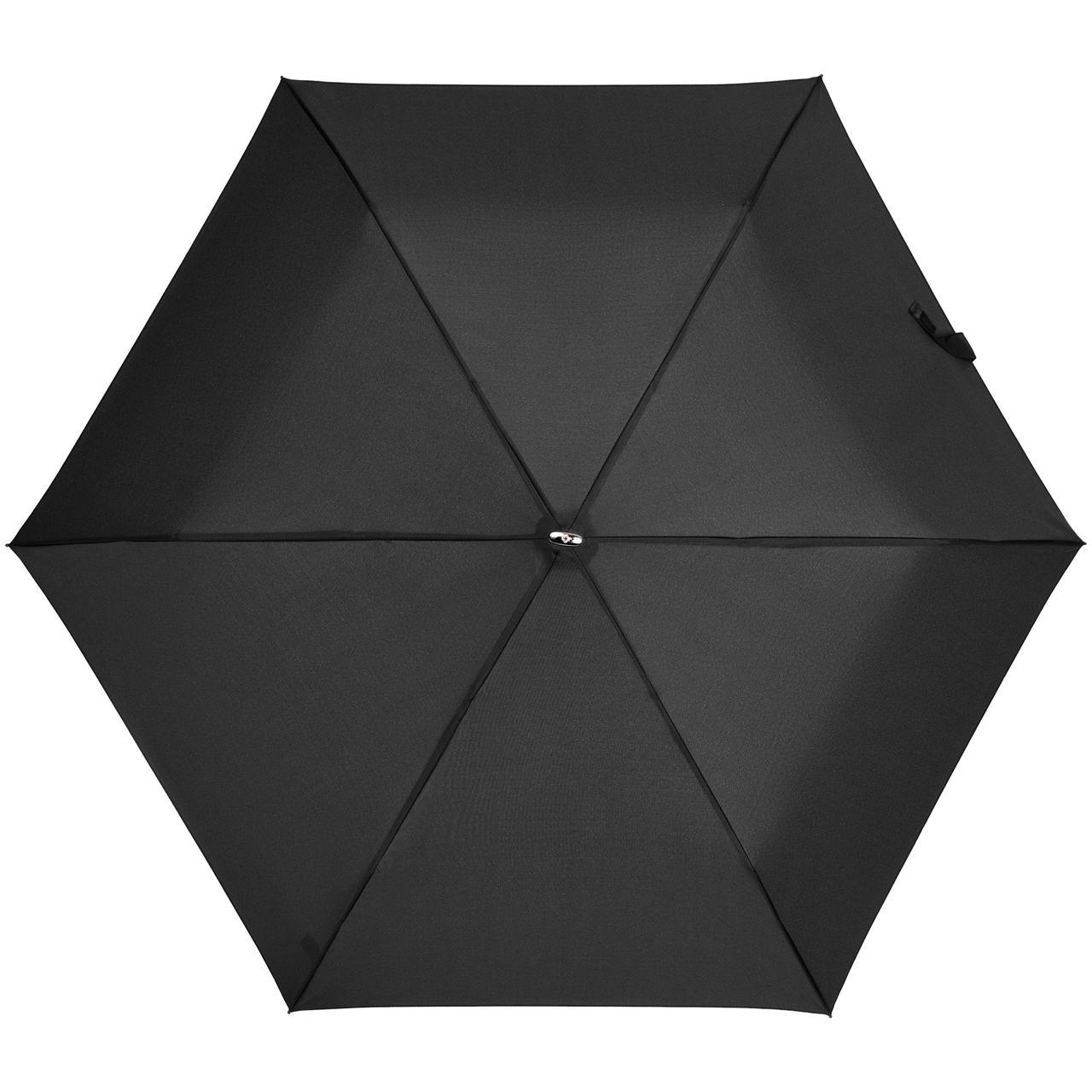 Зонт складной Rain Pro Flat, черный