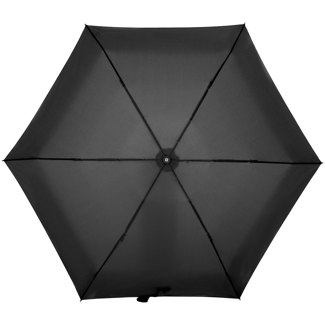 Зонт складной Minipli Colori S, черный