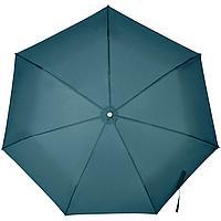 Складной зонт Alu Drop S, 3 сложения, 7 спиц, автомат, синий (индиго), фото 1