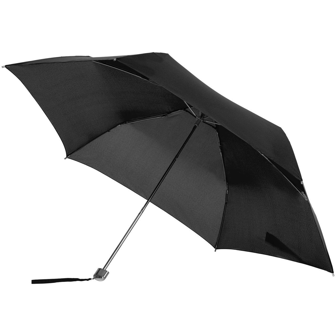 Зонт складной Karissa Ultra Mini, механический, черный