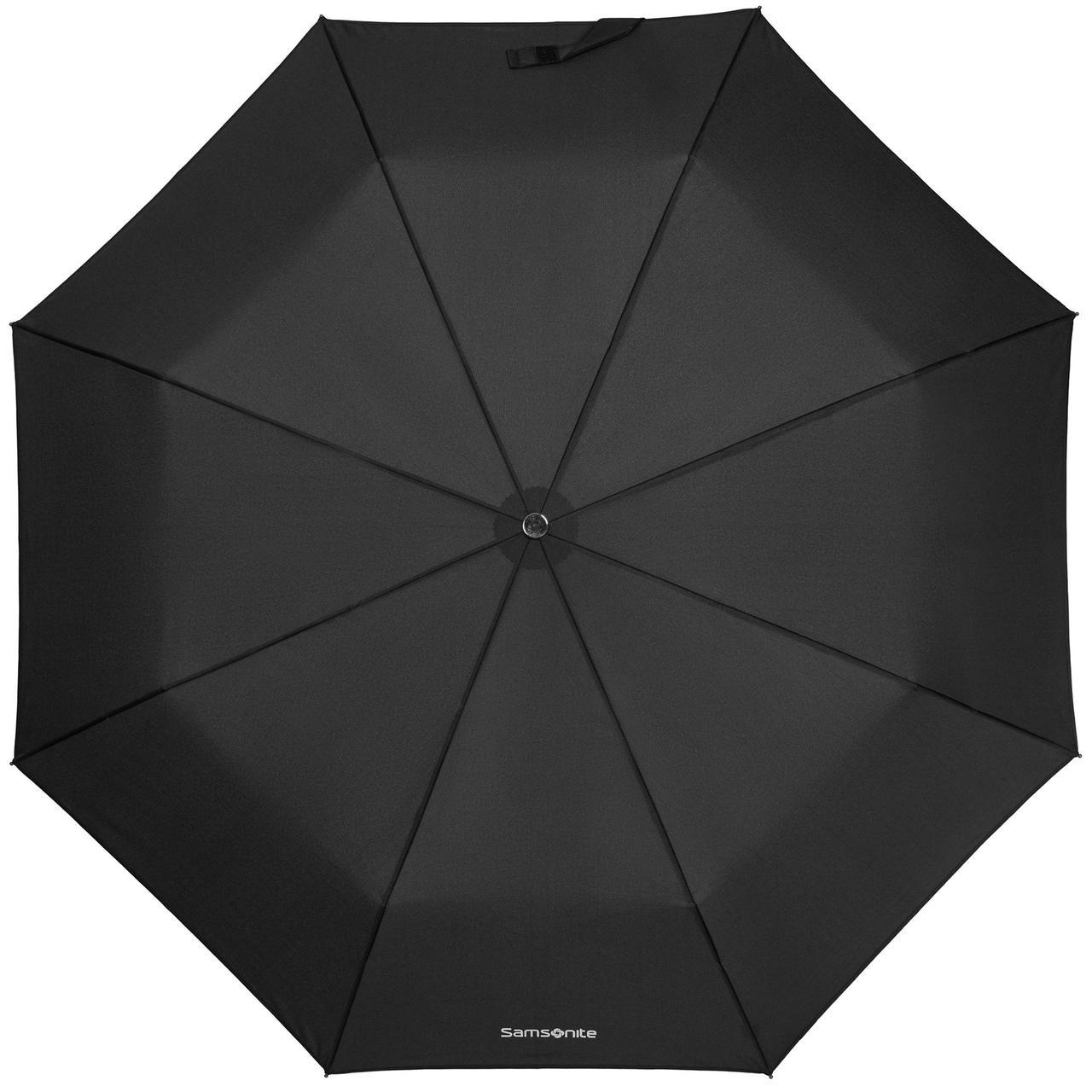 Складной зонт Wood Classic S, черный