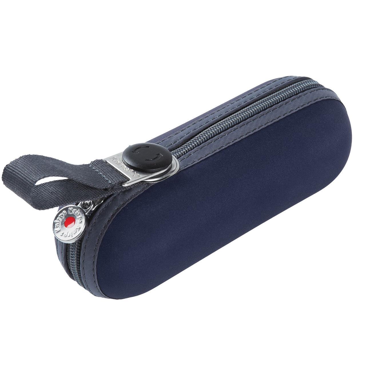 Зонт складной 811 X1, темно-синий