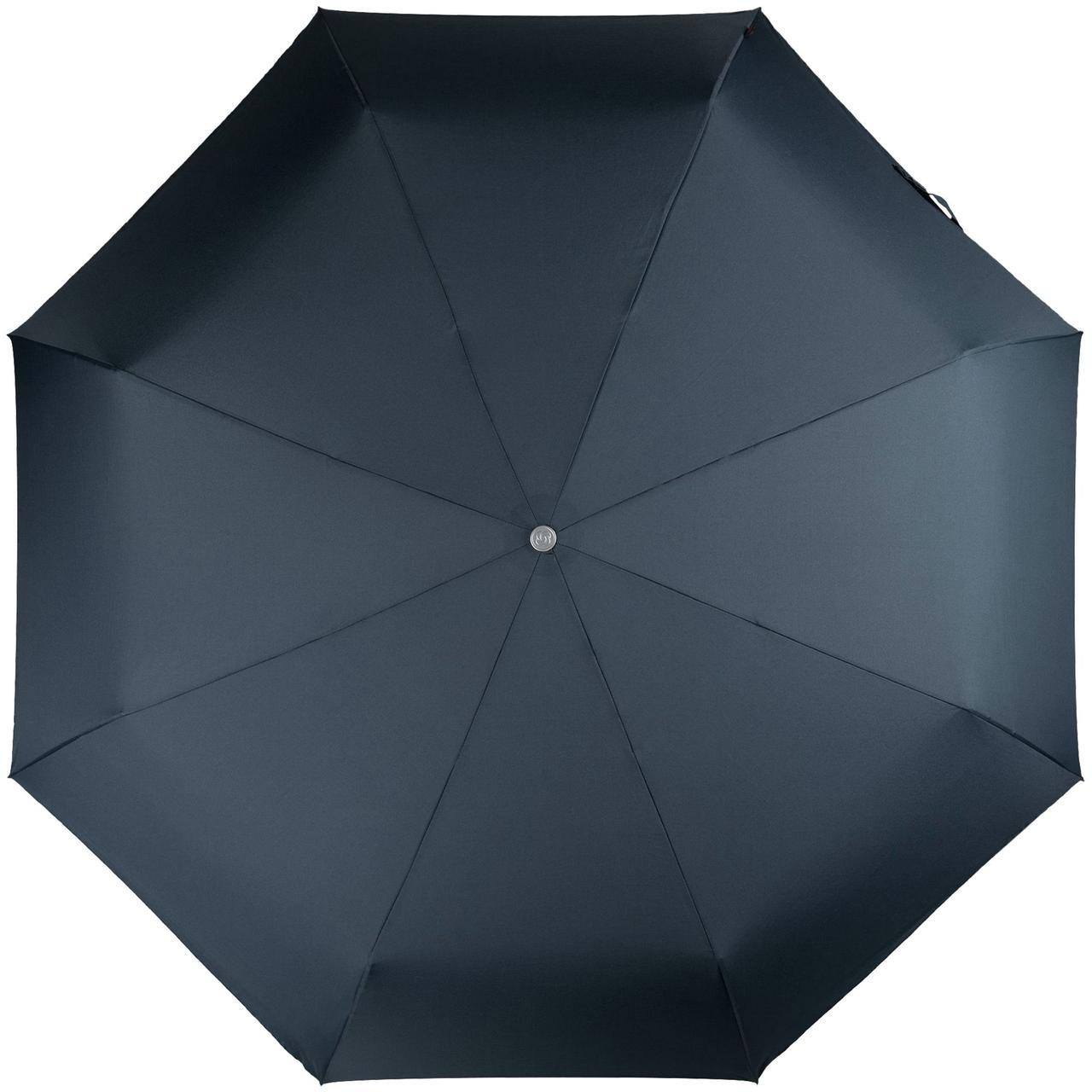 Складной зонт Alu Drop S Golf, 3 сложения, автомат, синий