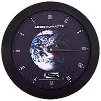 Часы настенные Vivid Large, черные, фото 1